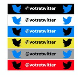 Bande Pare-Soleil Twitter
