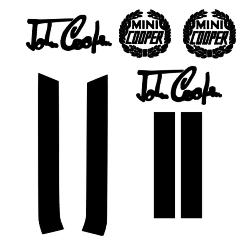 Kit bandes Capot  Mini Cooper
