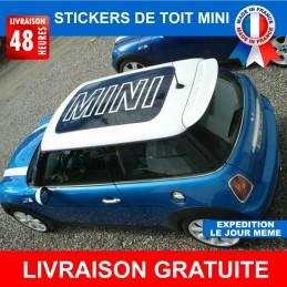 Stickers de toit mini cooper, cooper s