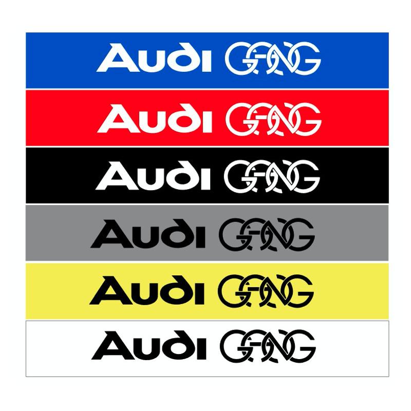 Bande pare soleil Audi GANG