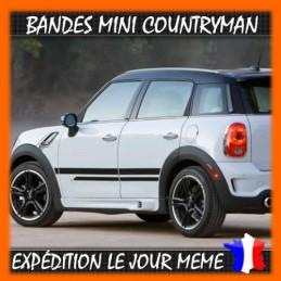 2 bandes Latérales Mini countryman