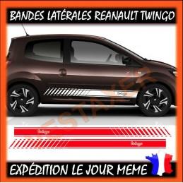 2 bandes latérales Renault Twingo Sport