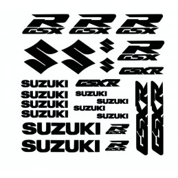 Kit de 24 Stickers Suzuki GSXR