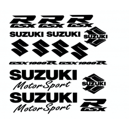 Kit de 16 Stickers Suzuki