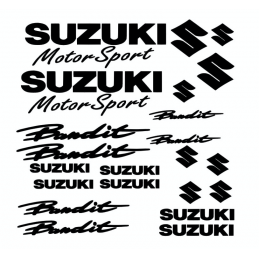 Kit de 22 Stickers Suzuki Bandit