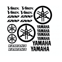 Kit 20 Stickers Yamaha Vmax 1200