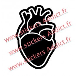 Sticker PNL Coeur