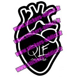 Stickers PNL Coeur QueLaFamille
